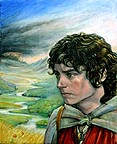 Frodo on the way to Mordor